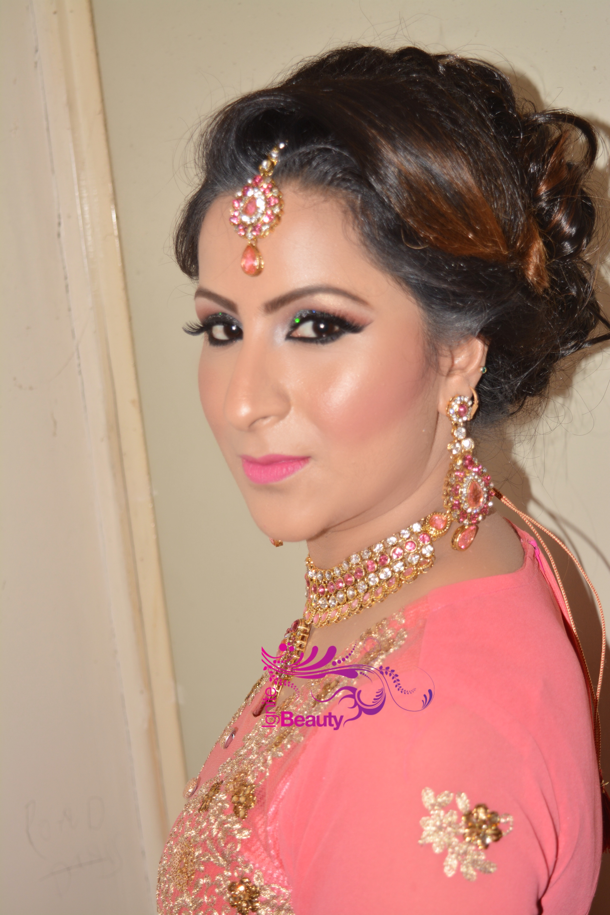 party bridal walima indian sikh hindu asian makeup leeds halifax huddersfield shipley harrogate bradford